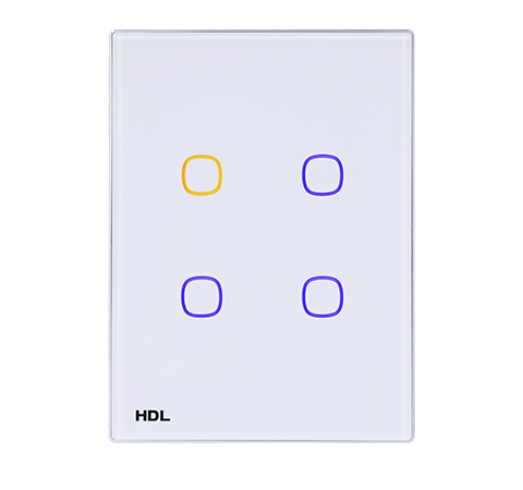 4 Buttons(White )