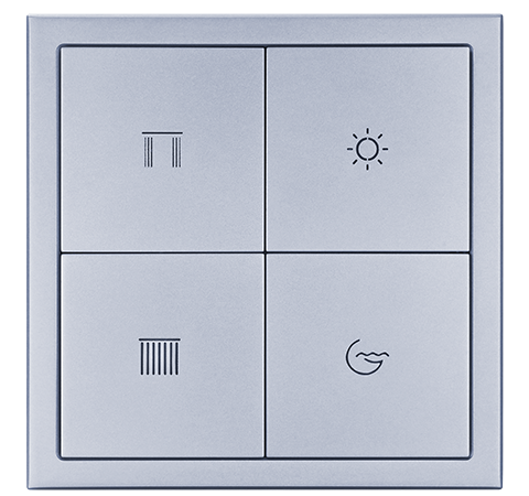 Tile Series Button Panel(4 Buttons Panel A)