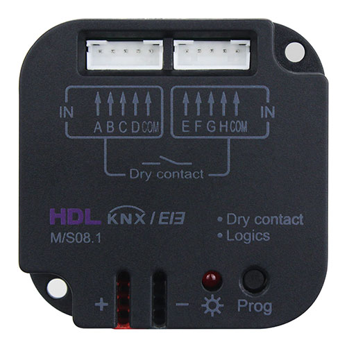 KNX 8-Zone Dry Contact Module