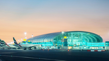 Smart lighting - Dubai International Airport