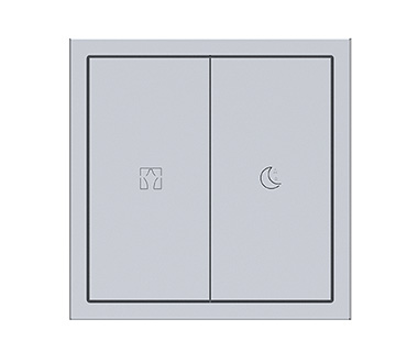 KNX Tile Series 2 Buttons Panel A