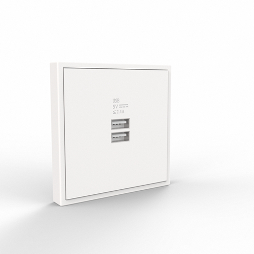 Tile/Dual USB Charger Wall  Outlet
