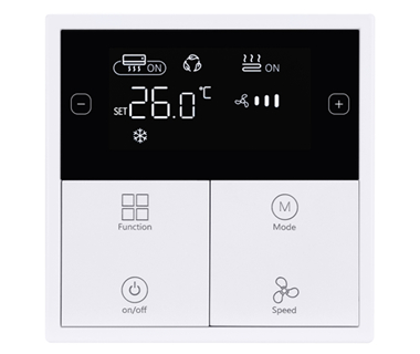 KNX Tile Series Climate Panel  (Plastic version)
